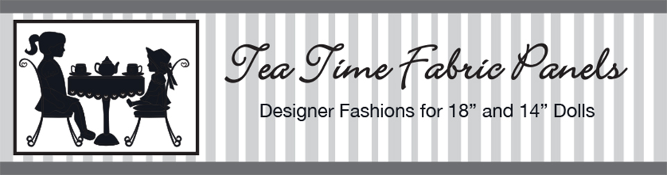 Tea Time Fabric Panels banner